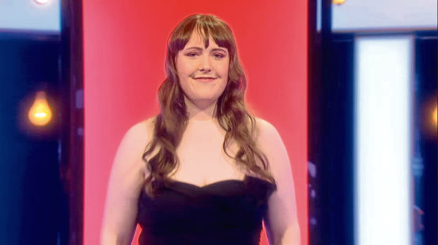 Amy Bateman appeared on dating show Naked Attraction