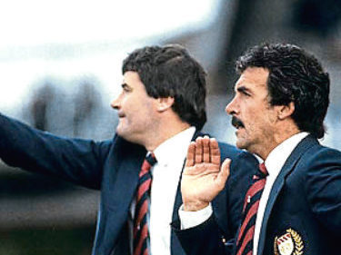 Archie Knox came in as manager, with Jocky Scott as assistant, and guided Dundee to safety in 1983/84