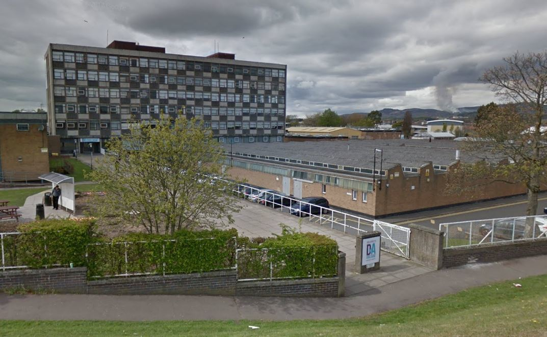 Dundee and Angus College's Old Glamis Road campus (stock image)