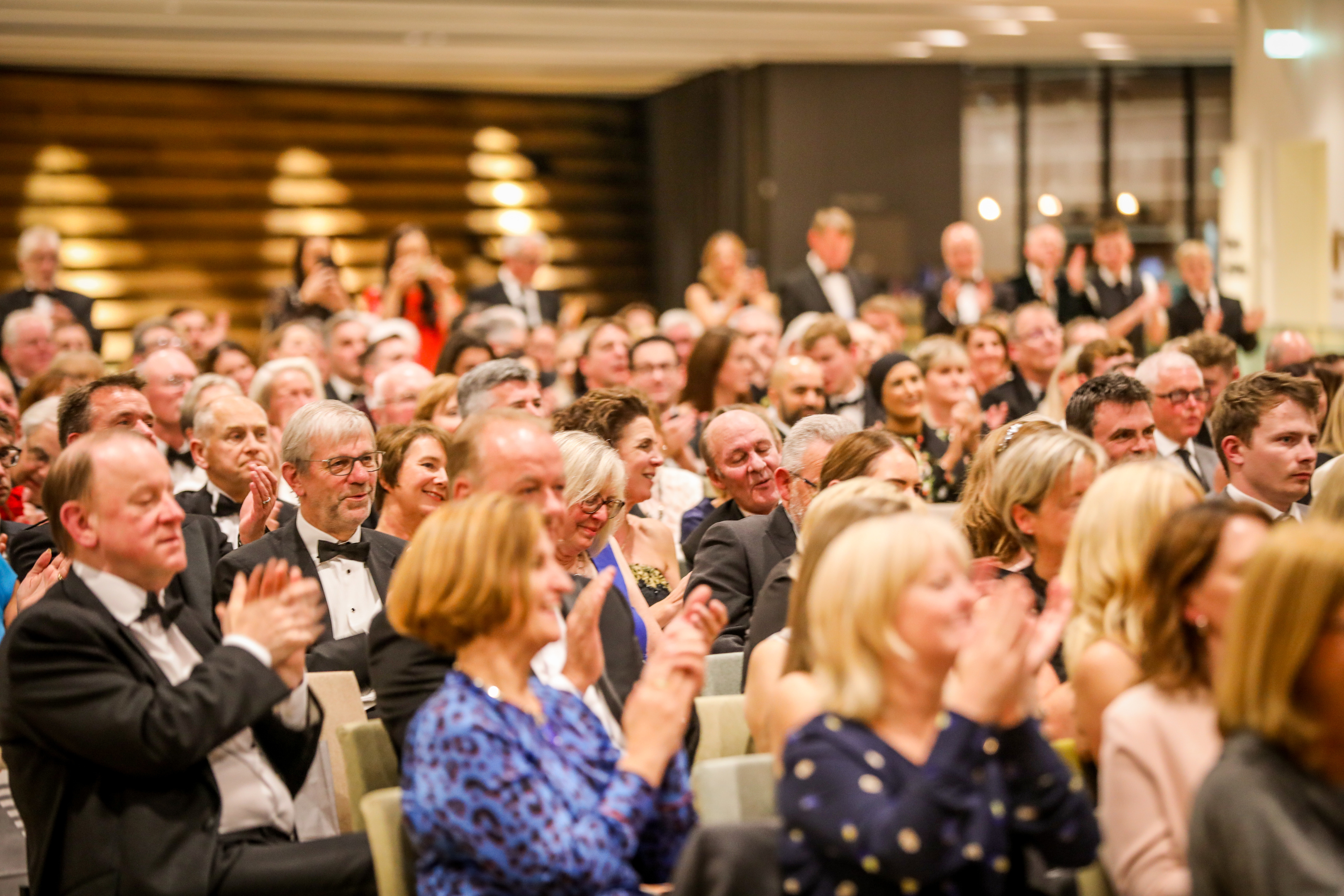 Attendees at the Maggie's Penguin Parade auction at V&A Dundee