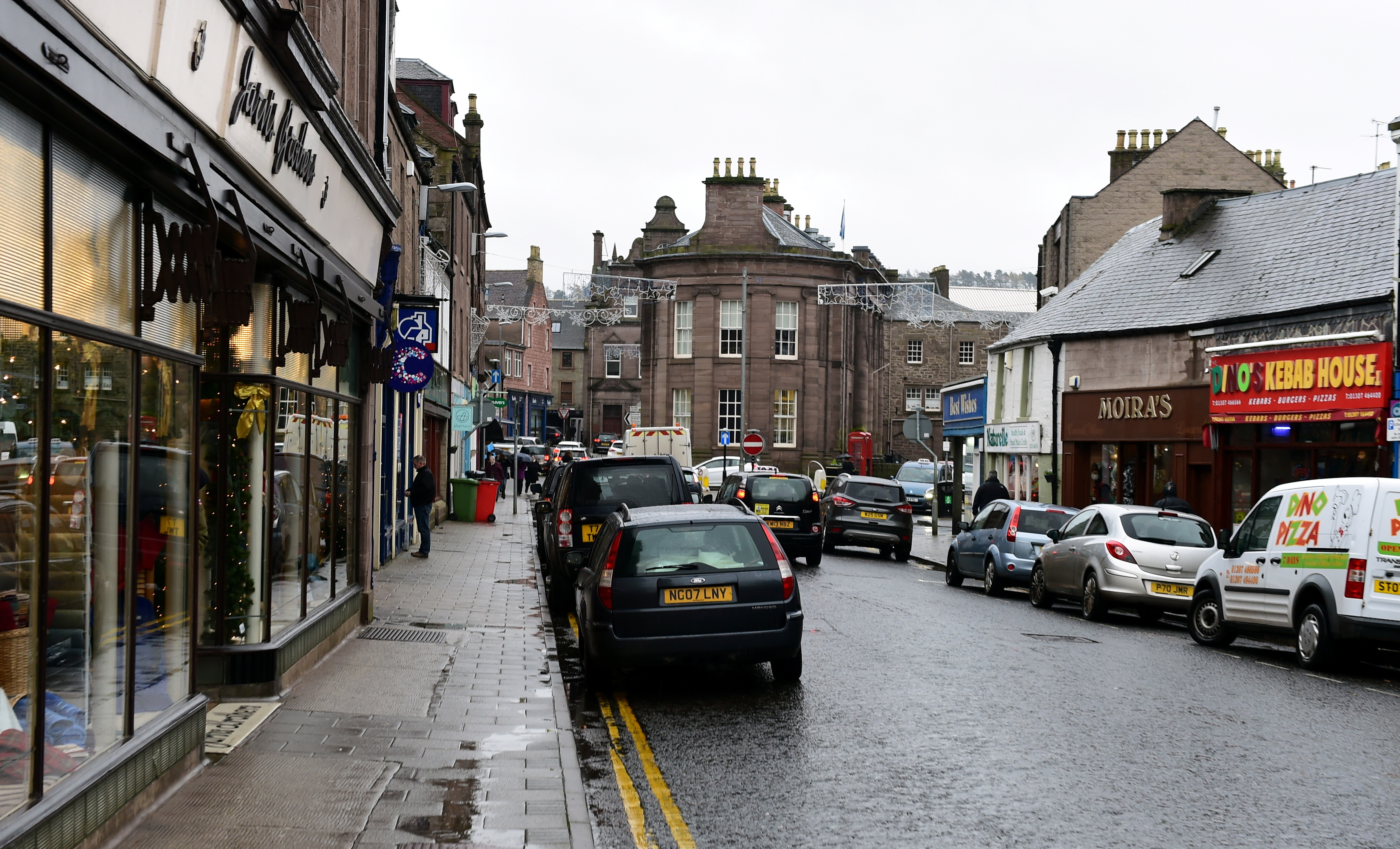 Castle Street, Forfar (library picture)