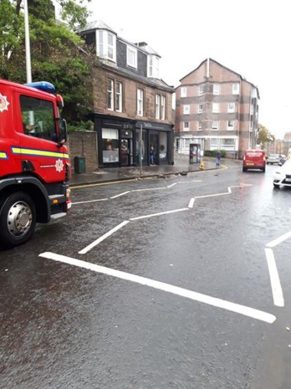 Perth Road today photo by Paul Mcmaster)