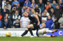 The incident that led to Halliday receiving a broken nose.