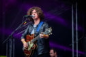 Kyle Falconer on stage at 3D Festival recently,