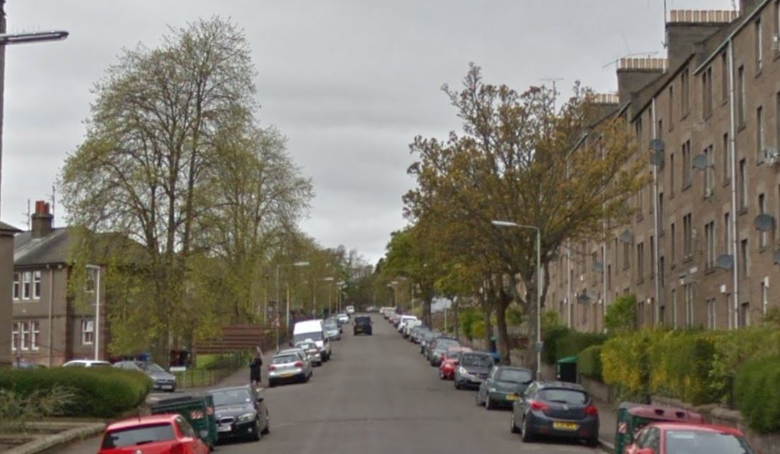 Scott Street, Dundee (stock image)