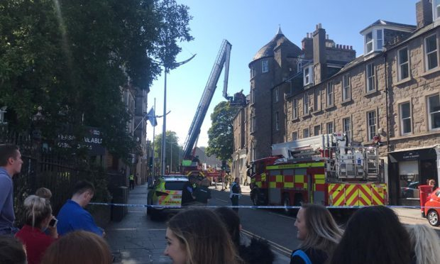 The scene of the incident on the Nethergate