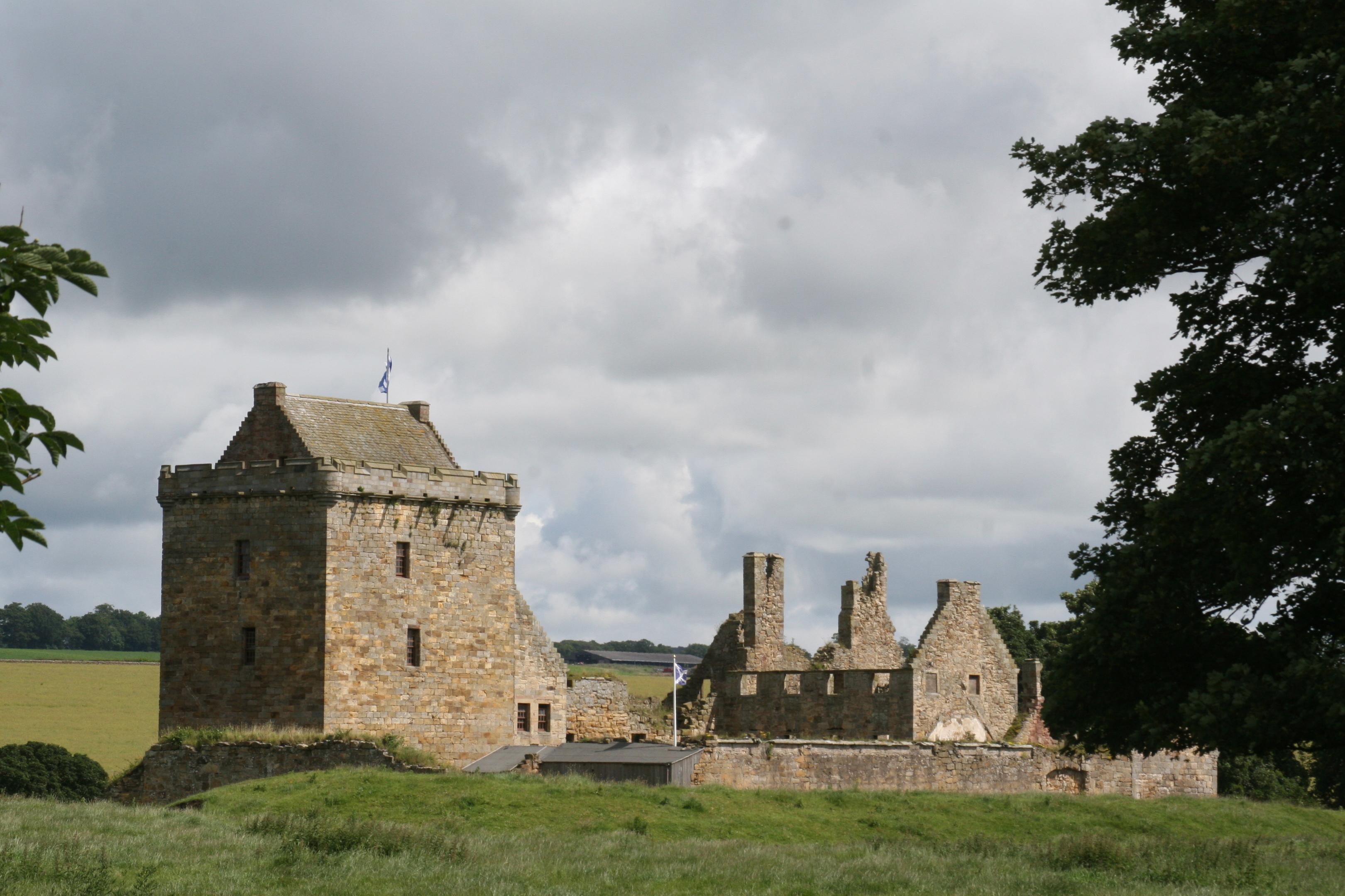 Balgonie Castle near Glenrothes.