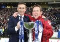 Dundee boss Jim McIntyre won the League Cup with Billy Dodds as his assistant with Ross County in 2016.