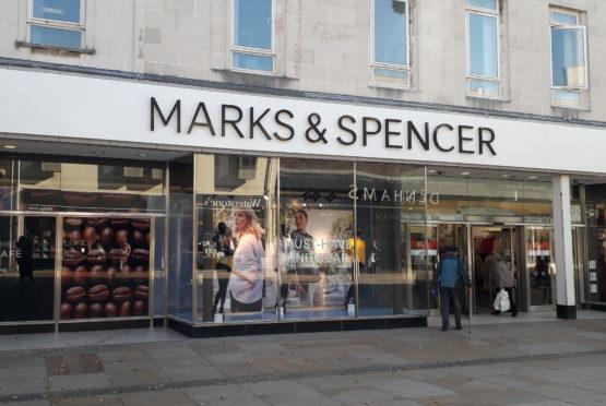The Marks & Spencer store on Kirkcaldy High Street