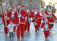 The dash is suitable for Santas of all ages
