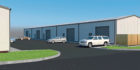 An artist's impression of the new units at Dunsinane Estate