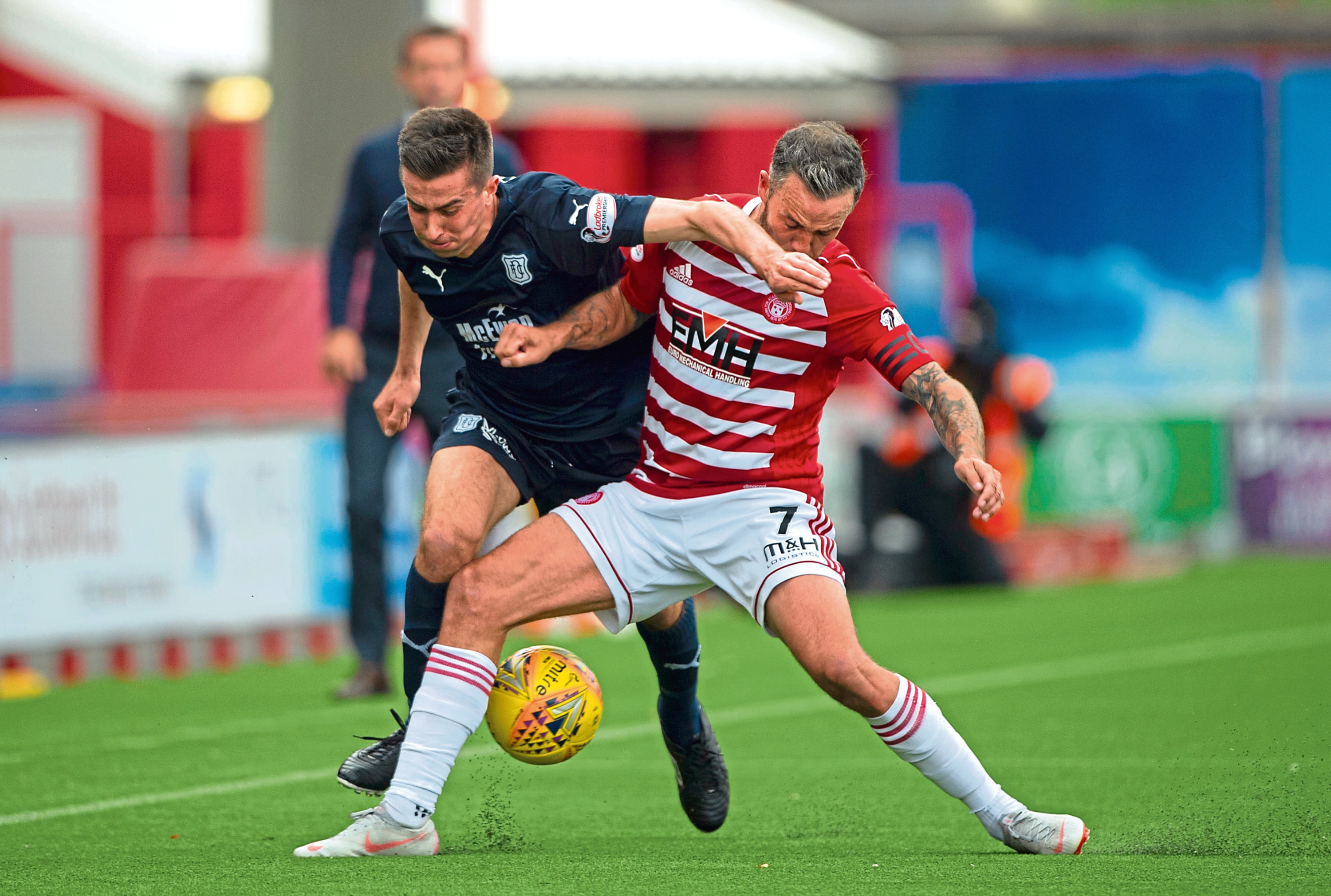 """Dundee had to battle for their three points at Hamilton and manager Neil McCann was delighted to see them handle Accies' """"direct"""" approach."""
