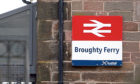 Broughty Ferry Railway Station. (Stock image).