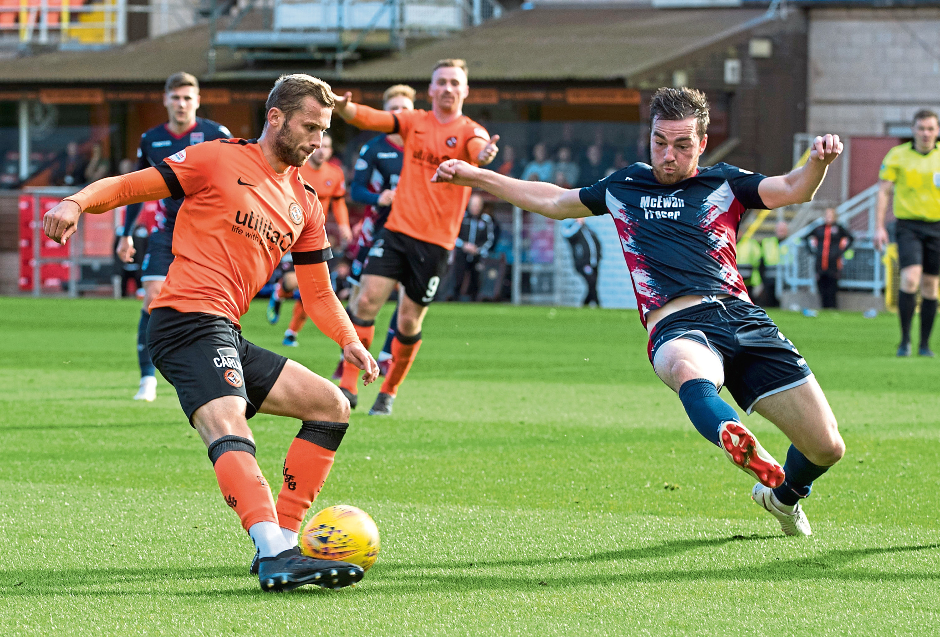 Slovakian striker Pavol Safranko scored Dundee United's only goal in their 5-1 home loss to Ross County last Saturday, a result which ultimately spelled the end for boss Csaba Laszlo.