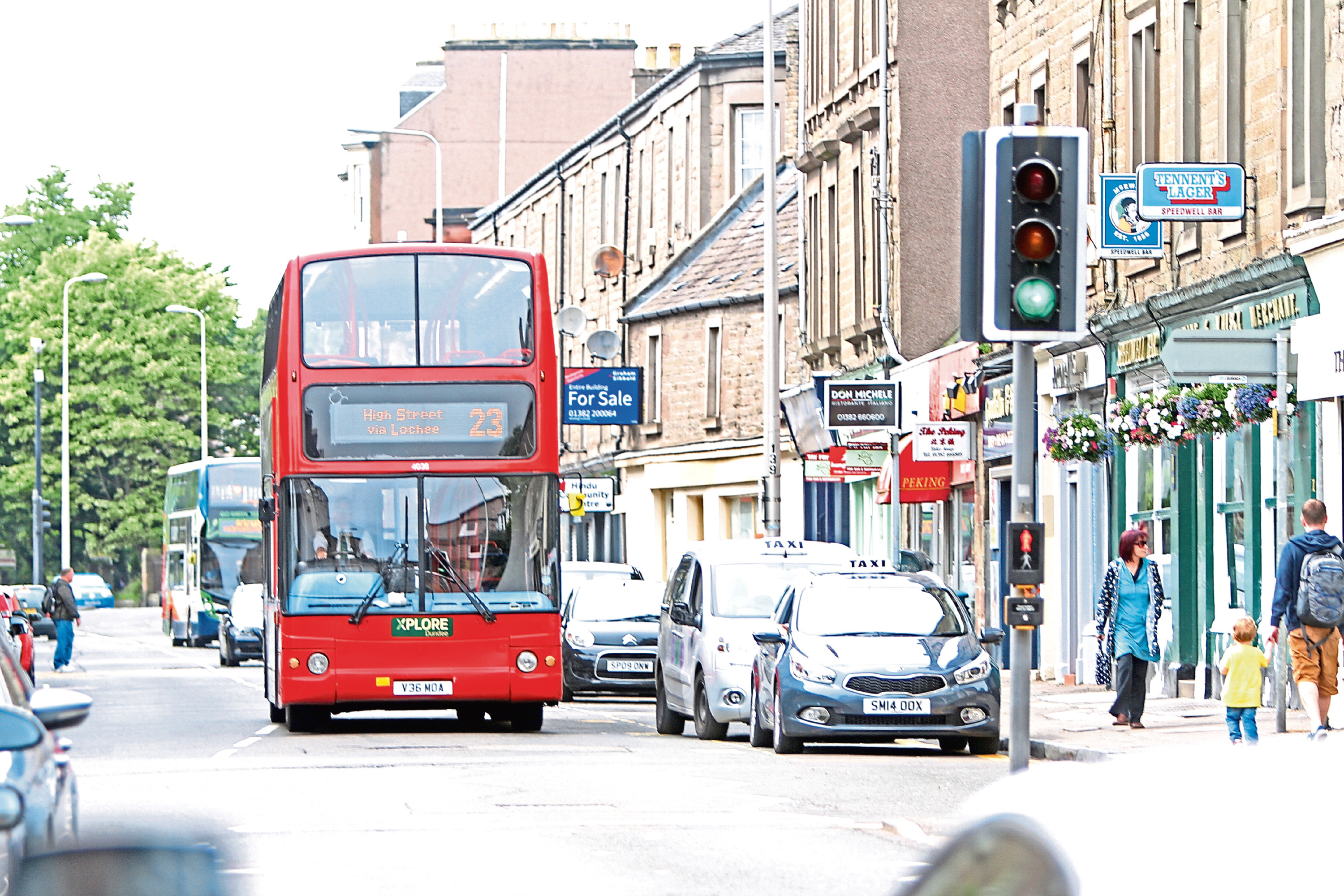 Xplore Dundee has said that its city bus service has returned to normal.