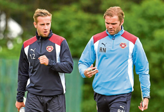 Billy King worked with Robbie Neilson at Hearts.