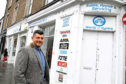 Craig Douris is hoping to turn the former cycle shop into a gin and prosecco bar