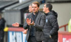 Dundee United manager Robbie Neilson steered them to a 2-1 victory over Partick Thistle in his first match in charge