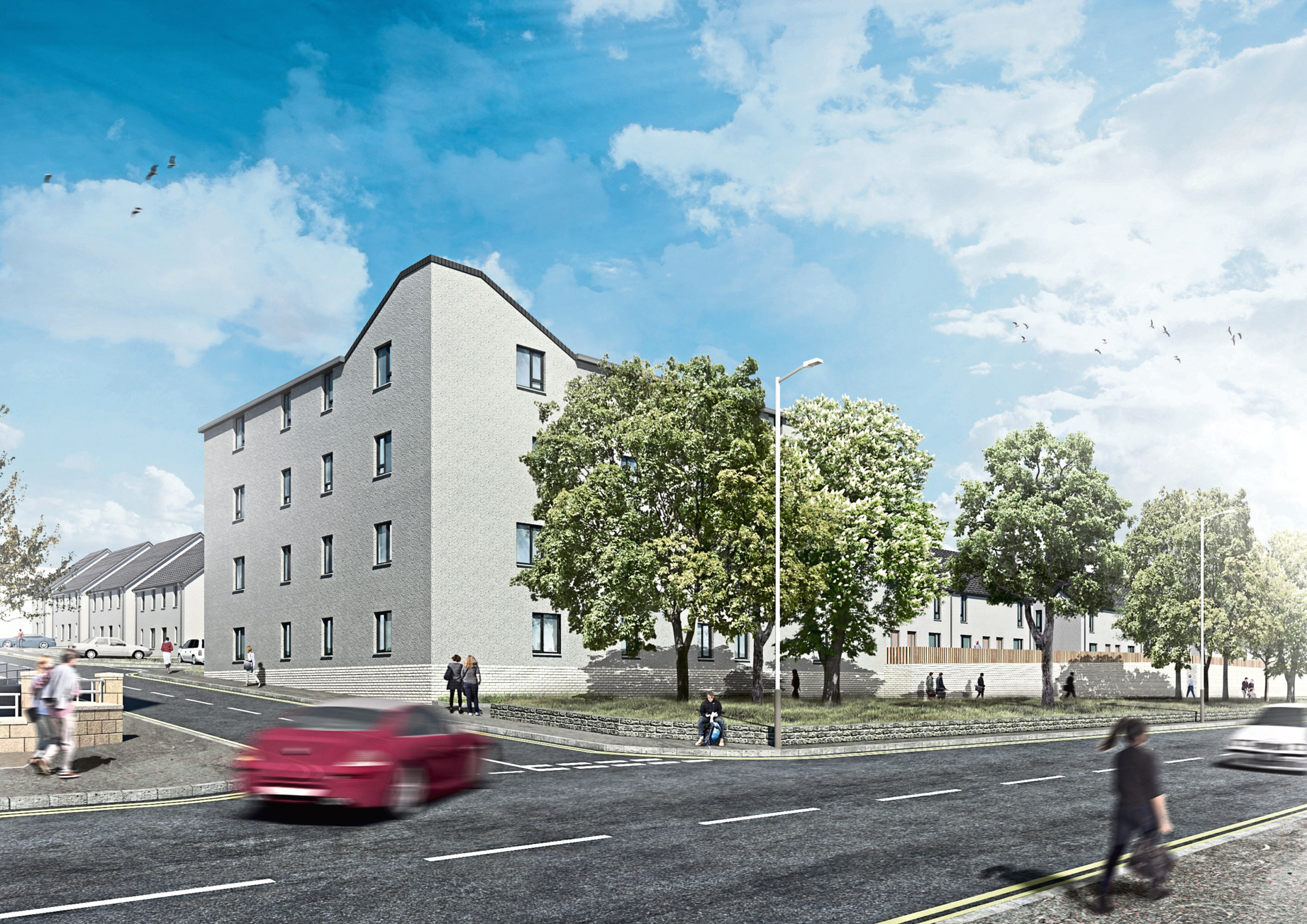 Plans to build nearly 60 new homes within a derelict former Dundee factory have been submitted to the council. The former Maxwelltown Works on Alexander Street are to be transformed into rented and low cost properties.