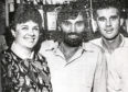 Amanda and Frank Kopel with George Best