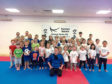 Attendees of the Kanzen Karate October Holiday camp