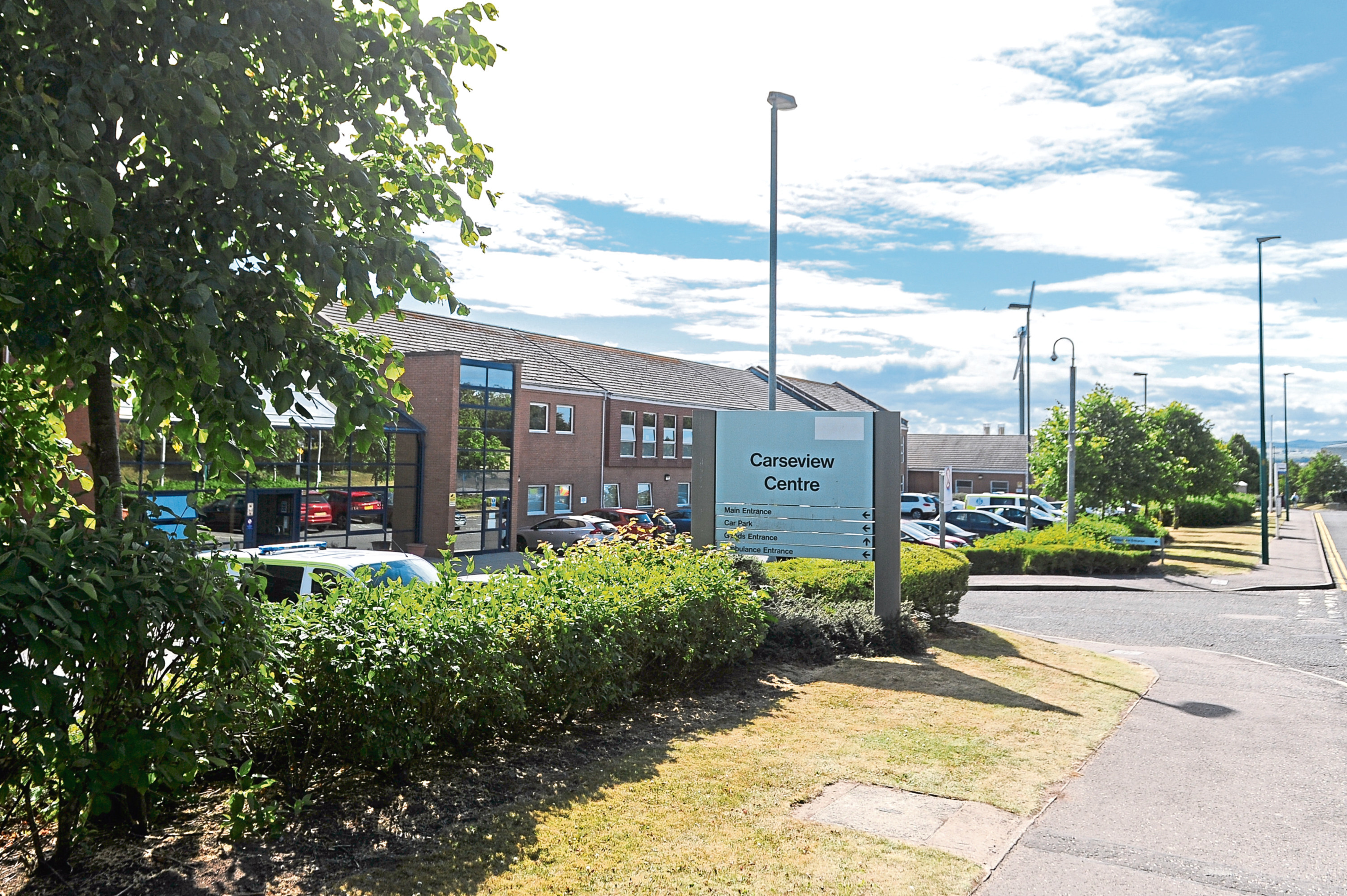 Dundee's Carseview Centre, one of NHS Tayside's mental health facilities.