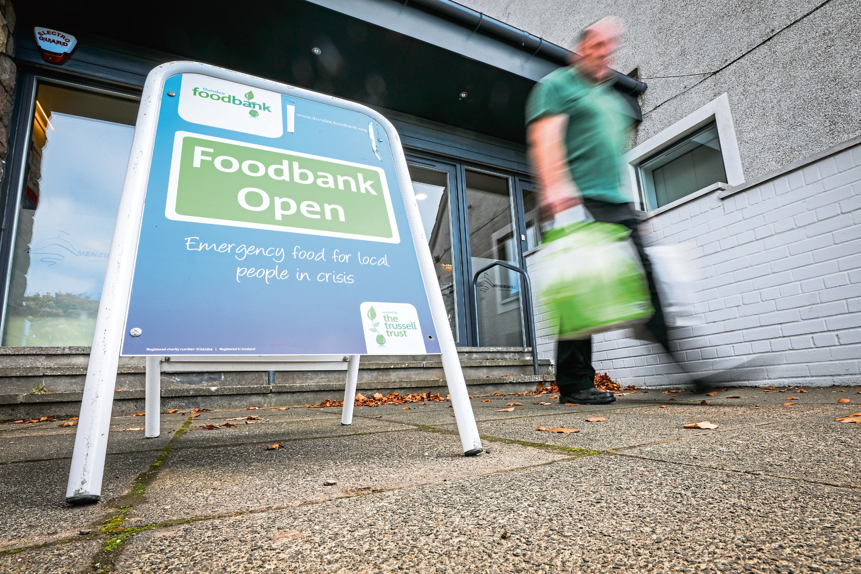 Dundee Foodbank (stock image)