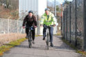 Kevin Cordell (left) and John Berry, Sustainable Transport Team Leader