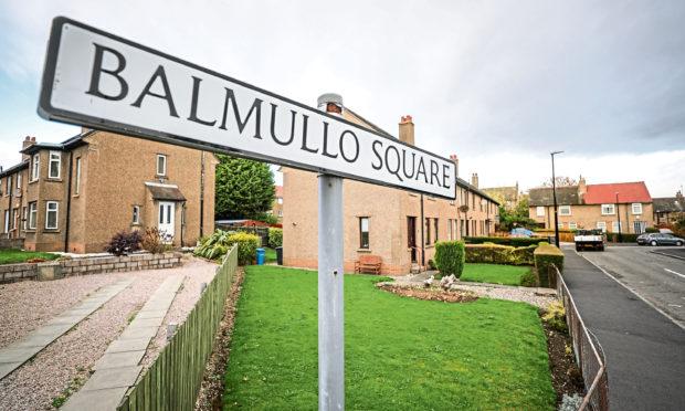 Balmullo Square, Douglas. (Stock image).