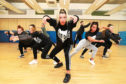 Urban Moves Dance Company were rehearsing at Harris Academy for Strictly Come Prancing