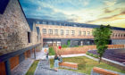 An artist's impression of the proposed redevelopment of Eagle Mill.