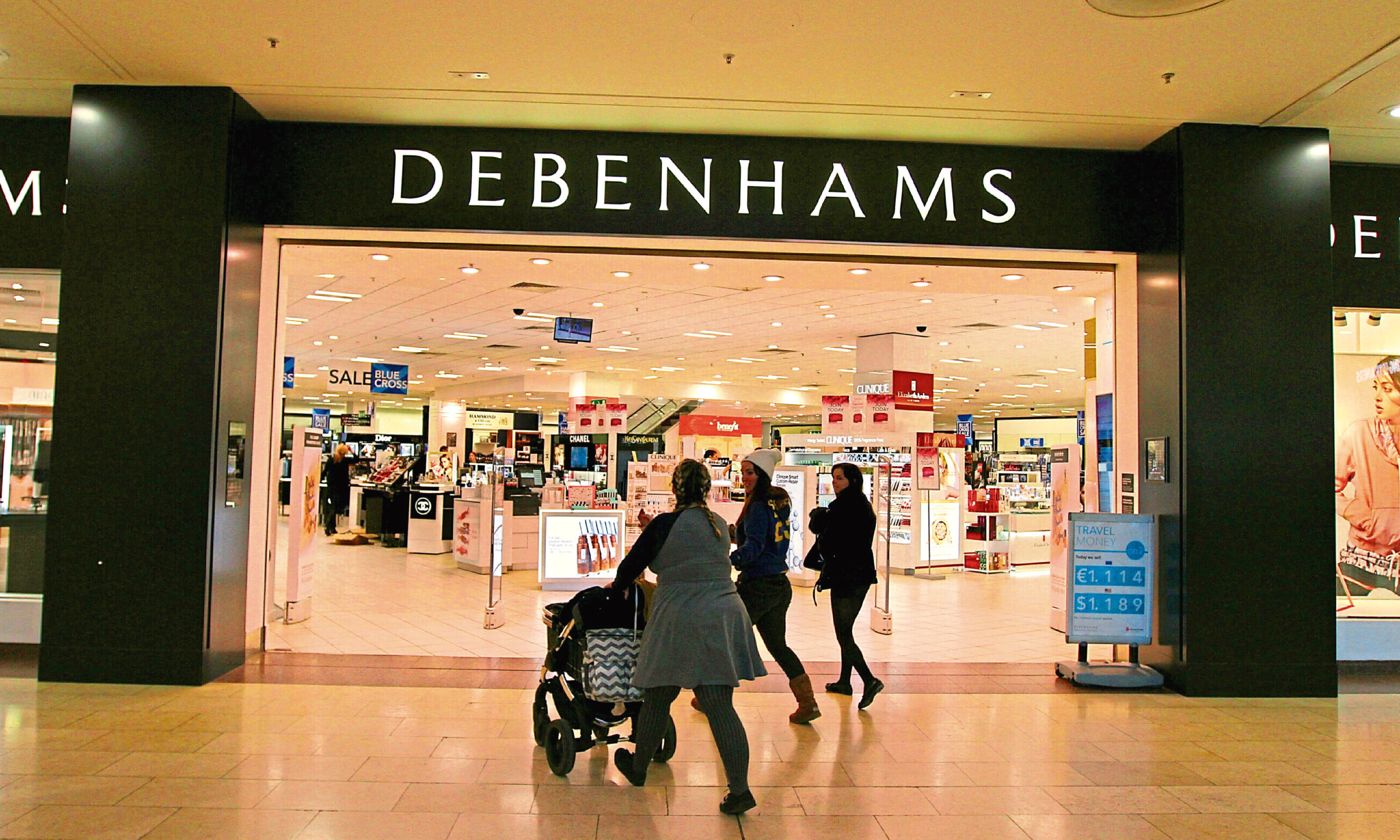 The Debenhams store in the Overgate. (Library image).