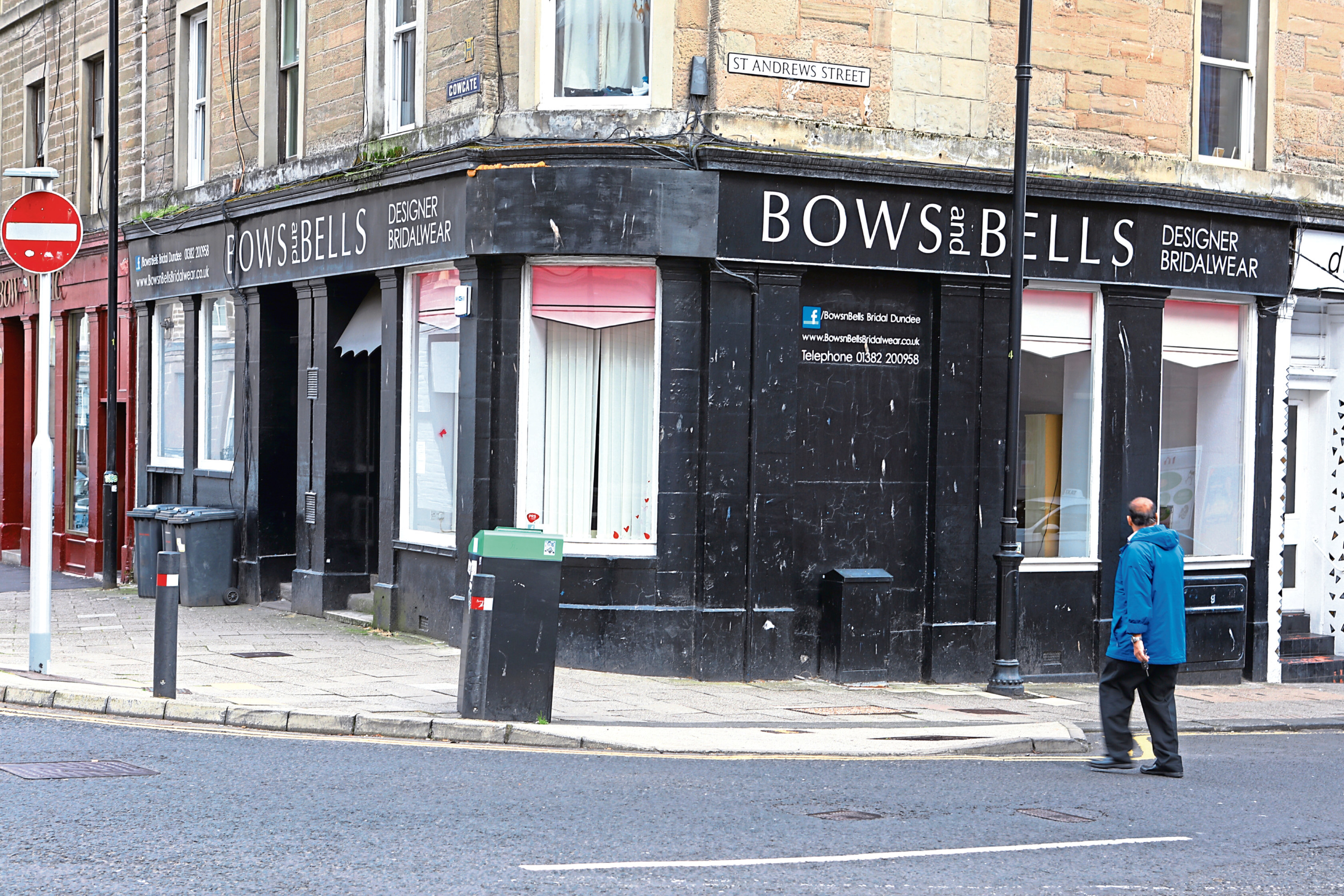 Bows and Bells has shut up shop in Dundee.