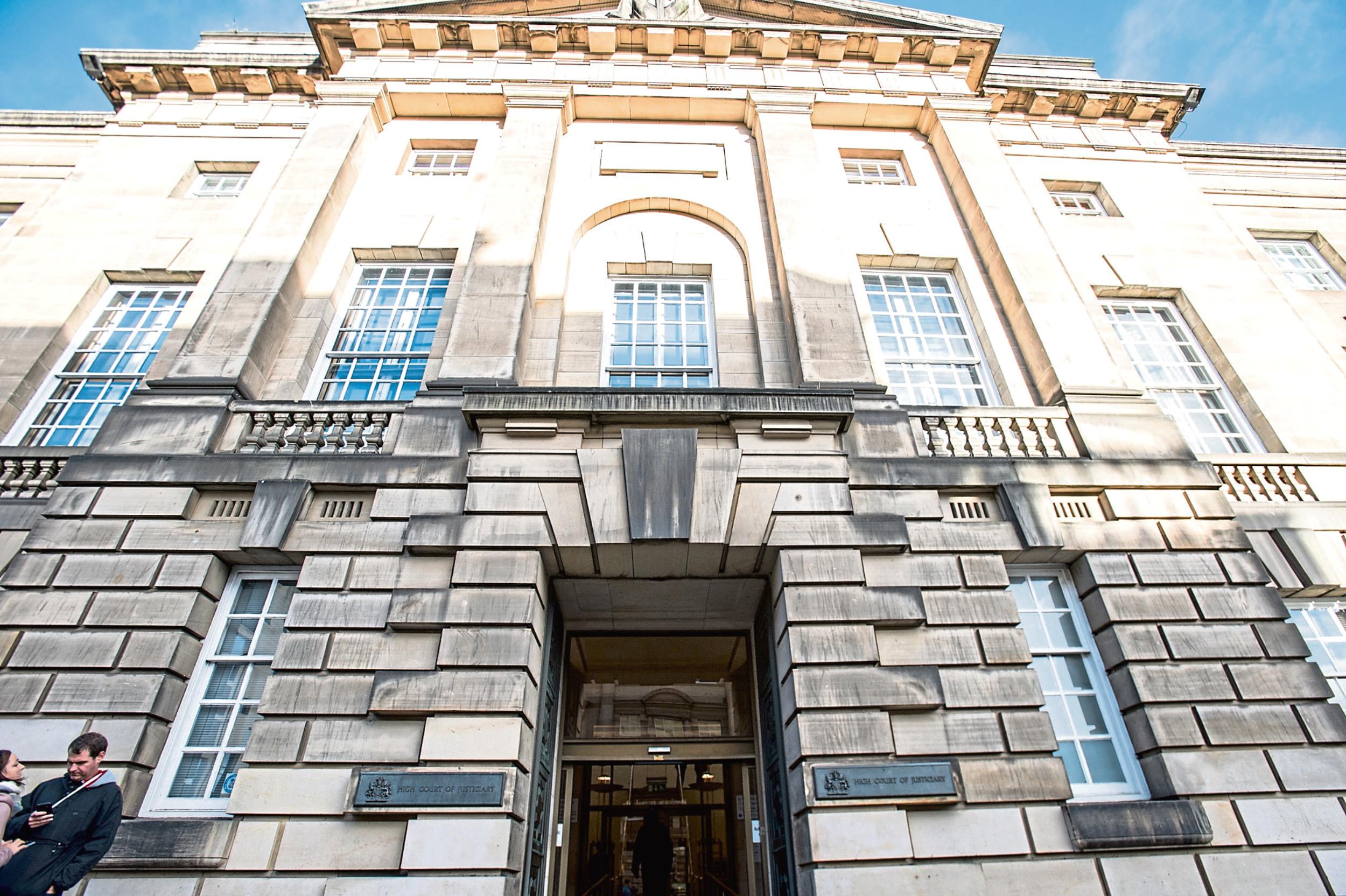The High Court in Edinburgh.