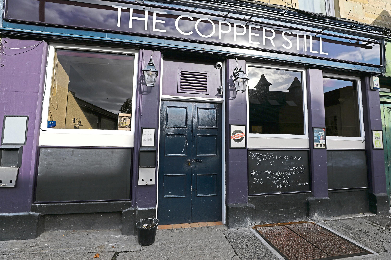 The Copper Still in Bell Street.