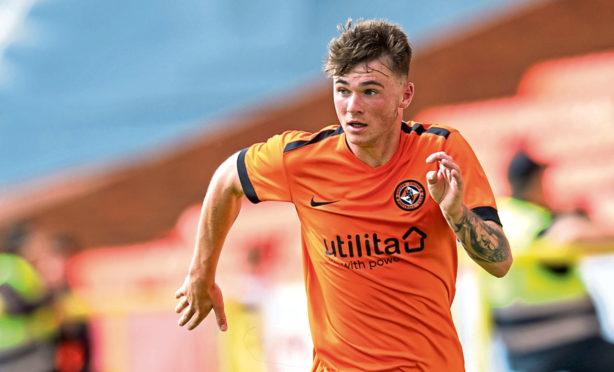 Dundee United left-back Jamie Robson