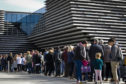 A third of V&A Dundee's operating costs come from visitor income. (Pic: Andrew Cawley)