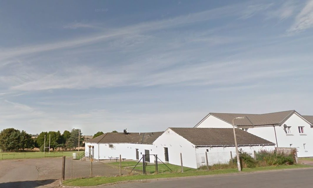 Alloway Place near Morgan Rugby Club (stock image)