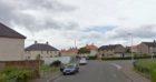 Cairns Street East, Kirkcaldy (stock image)