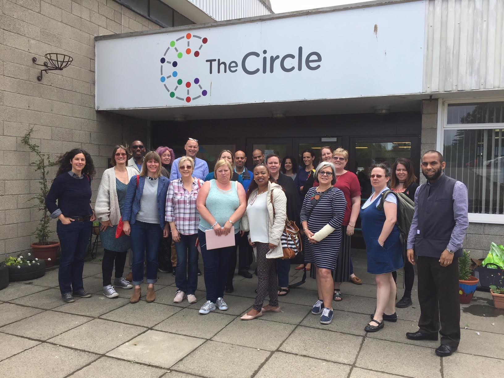 Social entrepreneurs at The Circle