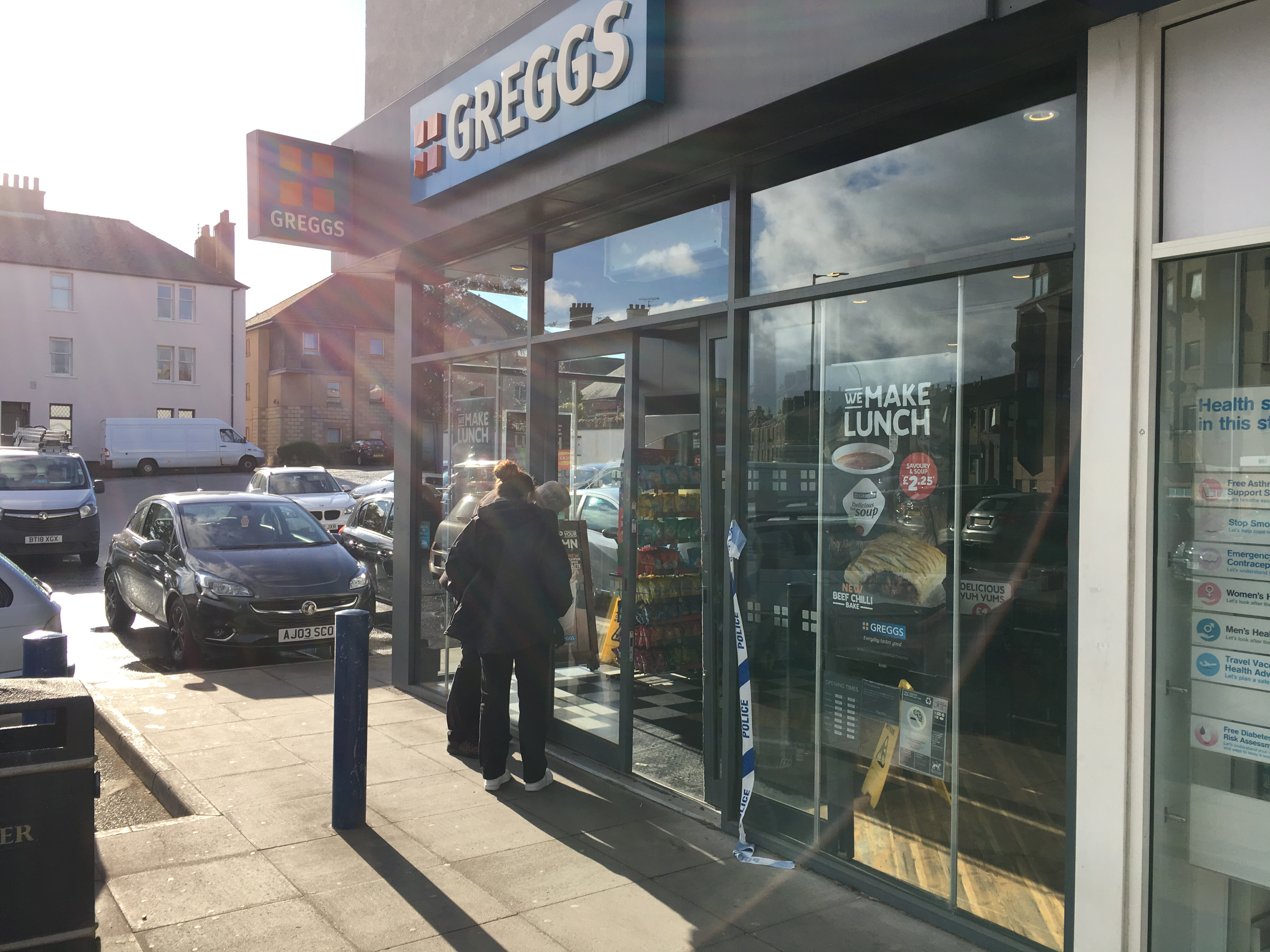 The Greggs store on Strathmartine Road