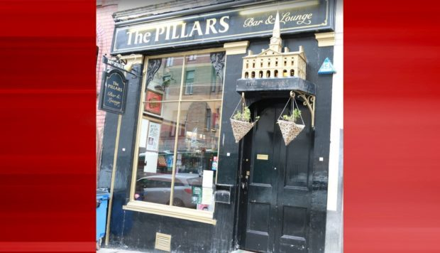 Pillars Bar, Crichton Street (stock image)