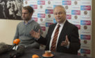 Dundee United chairman Mike Martin unveils new boss Robbie Neilson