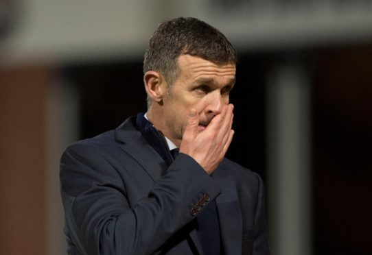 Jim McIntyre after Tuesday's 3-0 home defeat to Hearts