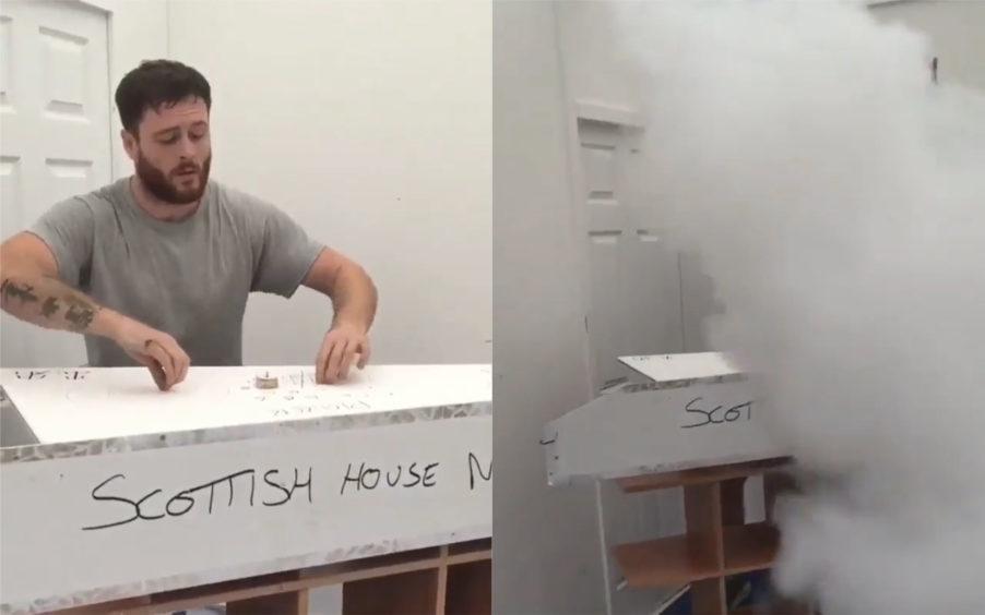 Ross McIntosh on the viral video