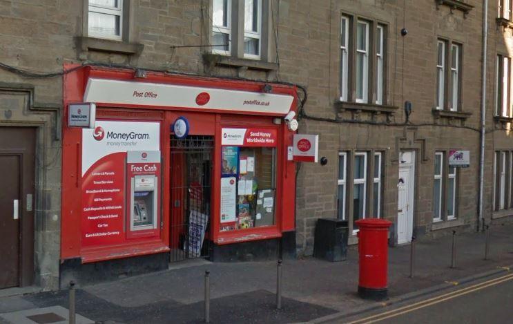 The Post Office on Albert Street