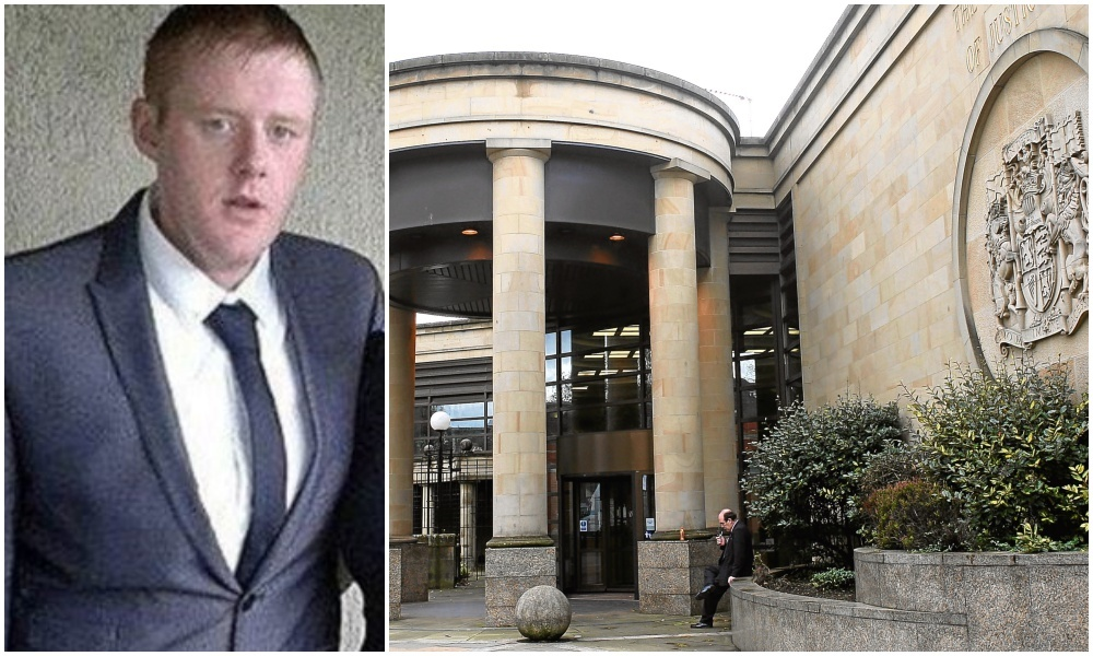 Dale Thomson was sentenced at the High Court in Glasgow