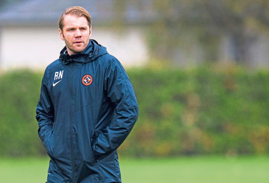 Dundee United manager Robbie Neilson feels his team can improve.