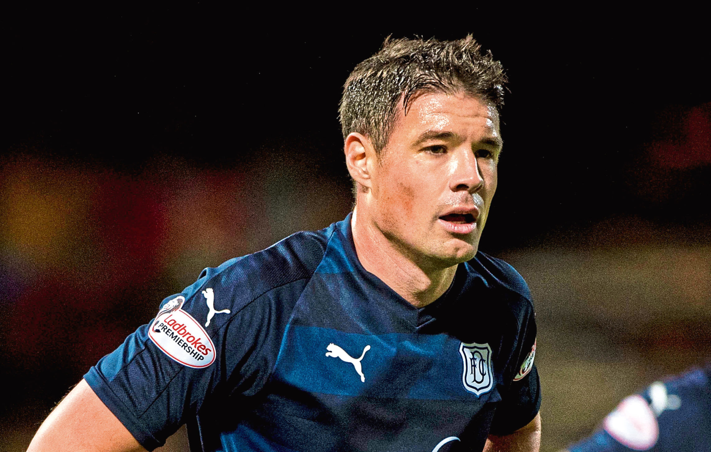 Darren O'Dea in action for Dundee