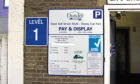 The council generated more than £2.2m in profit from the operation of car parks and the payment of parking fines last year. Pictured is Bell Street car park